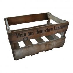 """Old wine box """"Wein aus deutschen Landen"""""""