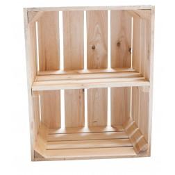 Kiste für Schuh-und Bücherregal 50x40x30cm